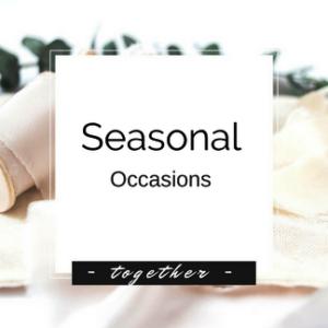 Seasonal - Occasions