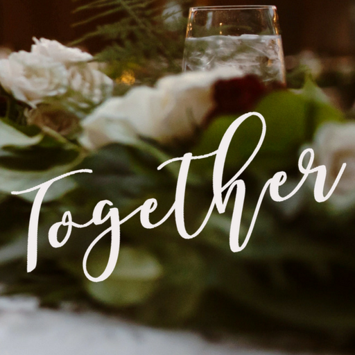 together+logo+table+flowers